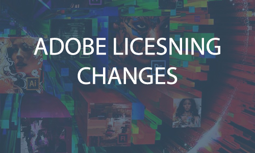 Learn About the 2019 Adobe Licensing Changes